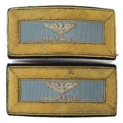 Shoulder boards, 1940's US Army, Colonel rank