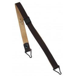 Jugulaire en cuir pour sous-casque (liner), DOT