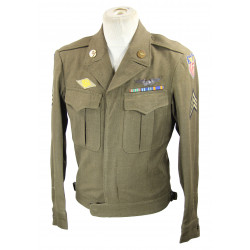 Jacket, Ike, 9th US Army Air Force, named
