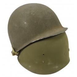 Helmet, M1, TIME Correspondent Harry Zinder