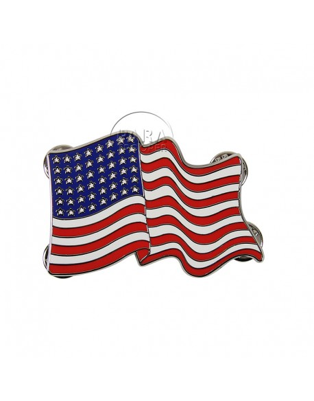 Crest (large), american flag