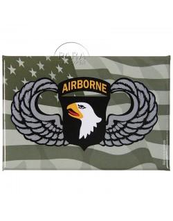 Magnet, black, 101st airborne