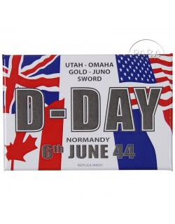 Magnet, D-Day Flags