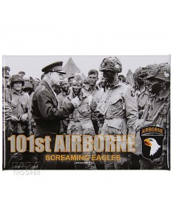 my experience as a paratrooper with the 101st airborne division Vincent speranza, a 101st airborne division paratrooper who fought at the battle of the bulge, shows some of his personal world war ii memorabilia to john o'brien.