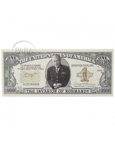 Billet américain commémoratif D-Day