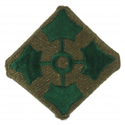 Patch, 4th Infantry Division, Large, Folded