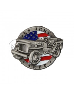 Pin's, US Army Jeep