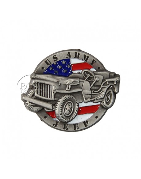 Pin's US Army Jeep