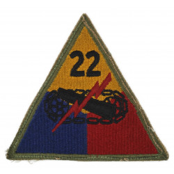 Patch, 22nd Armored Division