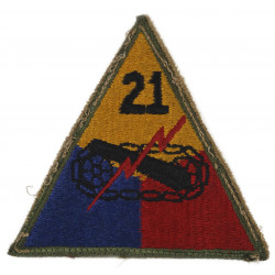 Patch, 21st Armored Division