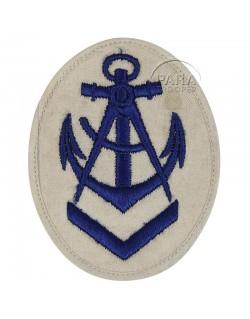 Insigne de chef charpentier Kriegsmarine