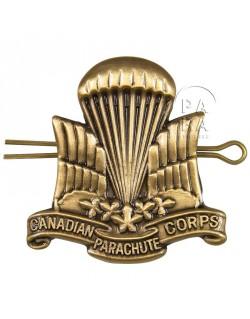 Insigne de béret para Canadien