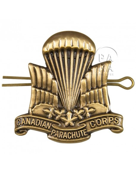 Cap badge, Parachutist, Canadian