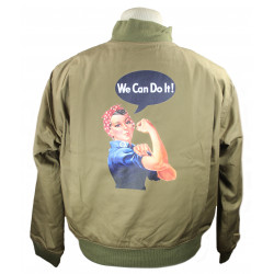 Jacket, Winter, Rosie the Riveter