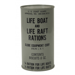 Can, Life Boat and Life Raft Rations, Coast Guard