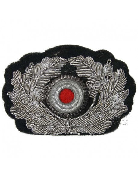 Insigne de casquette Wehrmacht, cannetille