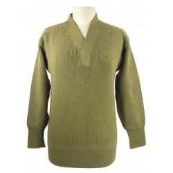 Sweater, V-neck, Wool, 2nd Lt. Julia Fossler