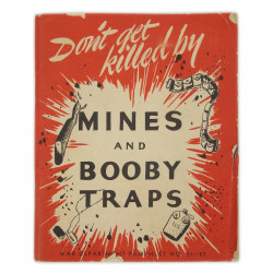Livret, Don't Get Killed By Mines And Booby Traps, 1944