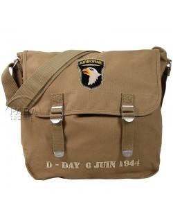 Musette bag, D-Day 6 juin 1944, 101st Airborne