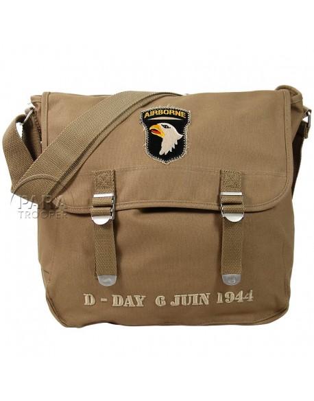 Musette bag, D-Day 6 juin 1944, 101st Airborne Div.