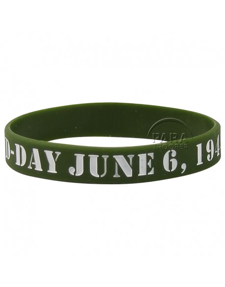 Bracelet silicone D-Day, June 6, 1944