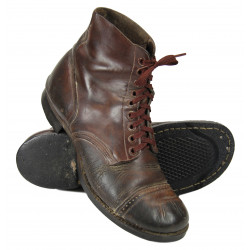 Shoes, Service, Composite sole, Type II, 9D