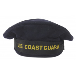Hat, Sailor, US Coast Guard, 'Duck Hat', Named