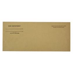 Envelope, War Department