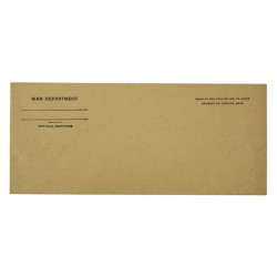 Envelope, War Department