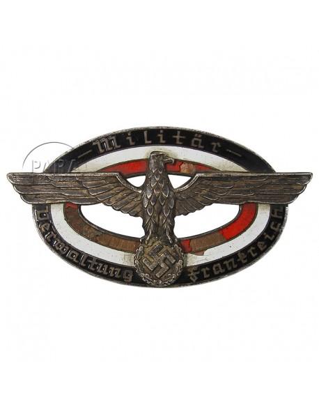 Badge de poitrine Administration Militaire en France