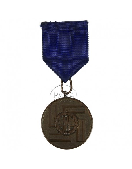 Service, medal, 8 years, SS