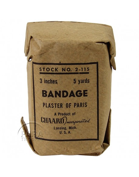 Bandage, plaster of Paris, Stock n°2-115