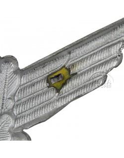 Insignia, cap, metal, Luftwaffe