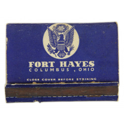 Matches, US, Fort Hayes, Columbus, Ohio