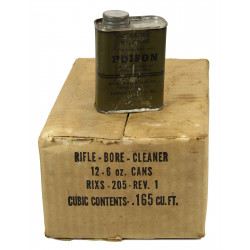 Cleaner, Rifle Bore, 1943 + cardboard