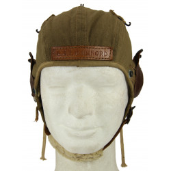 Helmet, Flying, Type A-9, Summer, 1942, Modified, named