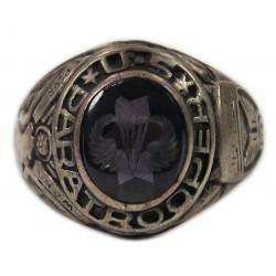 Bague US Army, 11th Airborne Division, argent