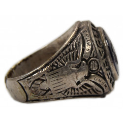 Ring, US Army, 11th Airborne Division, Silver