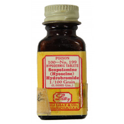 Bottle, Scopolamine Hydrobromide Medic, Eli Lilly and Co.