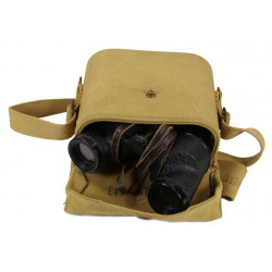Binoculars, Canadian, 1944, with carrying case 1943