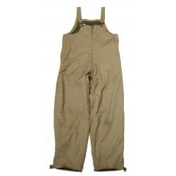 Trousers, Combat, Winter (Tanker bib), named, 1942