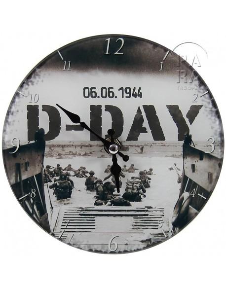 Horloge, barge, 6 juin 1944