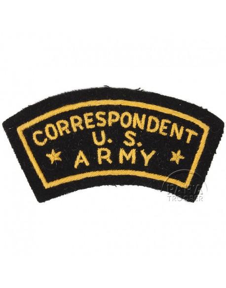 Insigne US Army Correspondent