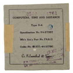Computer, Altitude, Type D-4, 1944